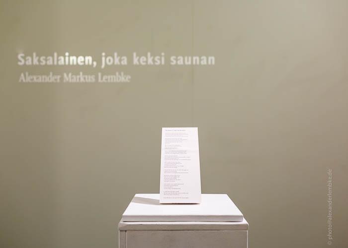 Saksalainen Joka Keksi Saunan – 2012
